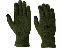 Outdoor Research Biosensor Merino Liners Evergreen