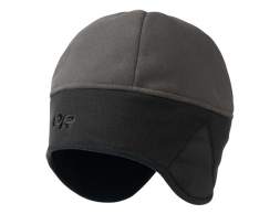 Зимна шапка Outdoor Research Wind Warrior Hat Charcoal Black