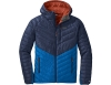 Мъжко пухено яке Outdoor Research Illuminate Down Hoody Naval Blue Cobalt