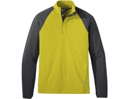 Outdoor Research Trail Mix Snap Pullover Citron 2020