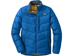 Мъжко пухено яке Outdoor Research Transcendent Down Jacket Cobalt 2020