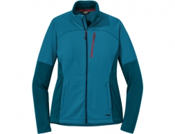 Дамско поларено яке Outdoor Research Vigor Full Zip Celestial Blue
