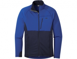 Outdoor Research Vigor Full Zip Fleece Jacket Sapphire Ink