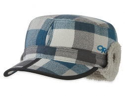 Зимна шапка ушанка Outdoor Research Yukon Cap Prussian Blue Plaid