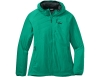 Дамско яке с изолация Outdoor Research Refuge Air Hoodie Jade 2021