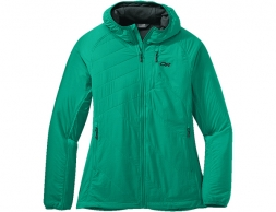 Outdoor Research Women's Refuge Air Hoodie Jade 2021