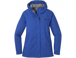 Дамско хардшел яке Outdoor Research Apollo Stretch Rain Jacket Azure 2021