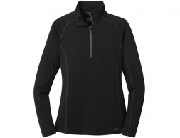 Дамска термо блуза Outdoor Research Enigma Half Zip Black 2021
