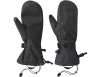 Ръкавици лапи с мембрана за планинарство Outdoor Research Revel Shell Mitts Black