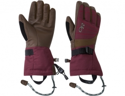 Дамски ръкавици за ски Outdoor Research Revolution Gloves Zin / Carob