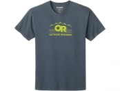 Outdoor Research Advocate Tee Naval Blue Heather 2021