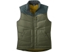 Мъжки пухен елек Outdoor Research Transcendent Down Vest Fatigue / Fir 2021