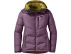 Дамско пухено яке Outdoor Research Transcendent Down Hoody Vintage Violet 2021