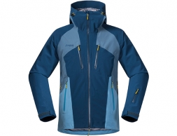 Bergans Oppdal Insulated Ski Jacket Steel Blue