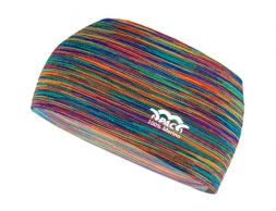 Лента за глава PAC Merino Headband Multi Rainbows