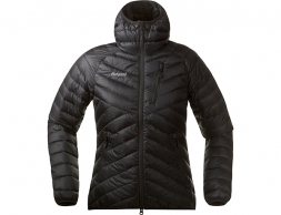 Дамско пухено яке Bergans Slingsbytind Down Lady Jacket w/Hood Black