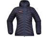 Дамско пухено яке Bergans Slingsbytind Down Lady Jacket w/Hood Night Blue