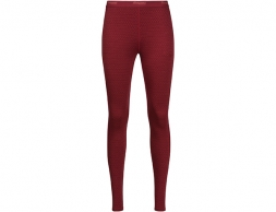 Дамски термо клин Bergans Snøull Lady Tights Bordeaux 2019