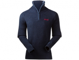 Мъжки пуловер Bergans Ulriken Jumper Navy