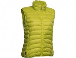 Дамски пухен елек Warmpeace Swan Lady Vest Citronelle 2020