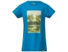 Детска тениска за момчета Bergans Nature Youth Tee Light Sea Blue