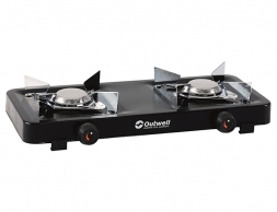Outwell Appetizer 2-Burner Portable Gas Stove