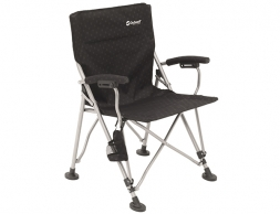 Outwell Campo Folding Camping Chair Black