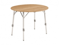 Outwell Custer Round Bamboo Table 2021