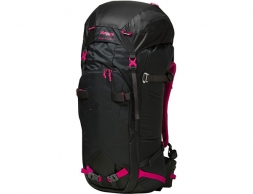 Bergans Helium PRO W55L Hiking Backpack Charcoal Pink