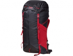 Туристическа раница Bergans Helium W55L Solid Charcoal Red