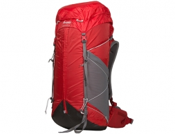 Bergans Helium W55L Hiking Backpack Red Solid Grey