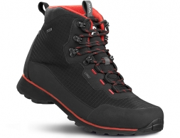 ALFA Lyng Perform GTX Hiking Boots Black Red