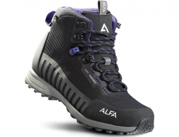 ALFA Kvist Advance GTX W Hiking Boots Black Purple