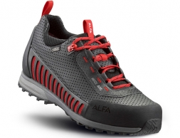 ALFA Varde APS GTX Approach Shoes Black Red