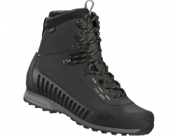 ALFA Orre APS GTX Men Mountain Boots Black Orange