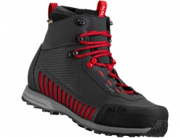 ALFA Lyng APS GTX Hiking Boots Men Black Red