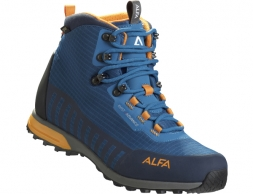 ALFA Kvist Advance GTX Men Hiking Boots Seaport Orange