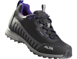 ALFA Knaus Advance GTX WMN Approach Shoes Black Purple 2020