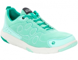 Jack Wolfskin Monterey Ride Low Woman Leisure Shoes Pale Mint