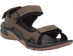 Jack Wolfskin Lakewood Cruise Sandals Dark Wood 2019