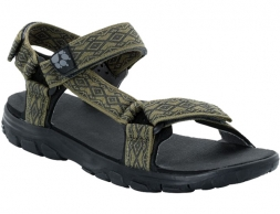 Jack Wolfskin Seven Seas 2 Sandals Burnt Olive 2019