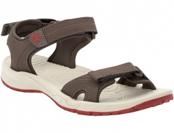 Jack Wolfskin Lakewood Cruise Sandals Women Coconut Brown 2020