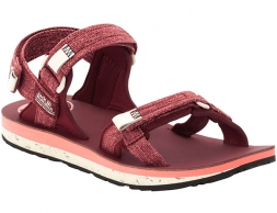 Jack Wolfskin Outfresh Deluxe Sandals Women Carbernet / Champagne 2020
