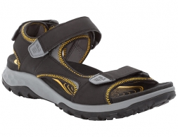 Jack Wolfskin Rocky Path Sandals Men Black / Burly Yellow 2020