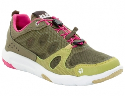 Jack Wolfskin Monterey Air Low Women Leisure Shoes Light Khaki