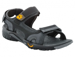 Jack Wolfskin Lakewood Cruise Men Sandals Burly Yellow