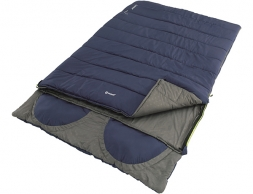 Outwell Contour Lux Double Sleeping bag Imperial Blue 2020
